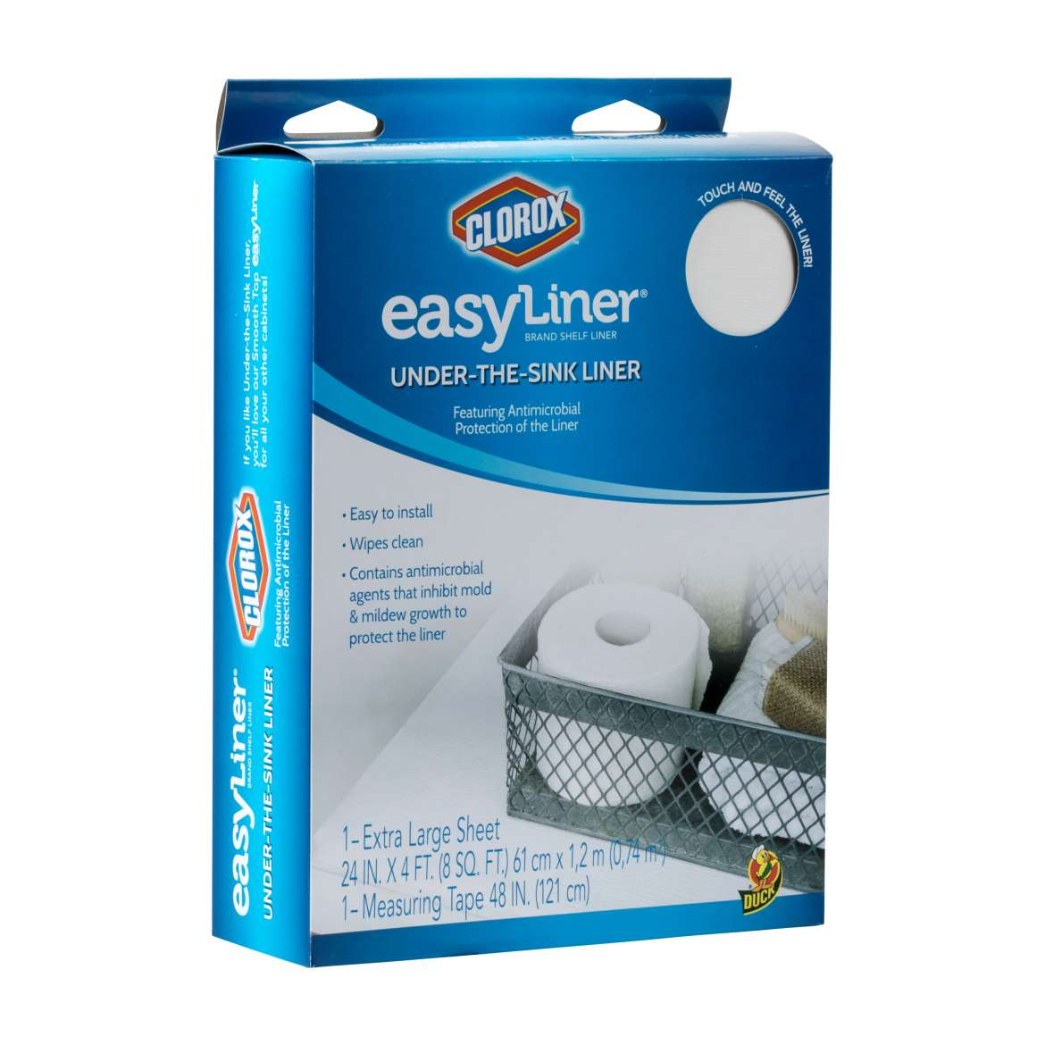 Under-The-Sink Easy Liner® with Clorox®