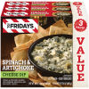 TGI Friday's Spinach & Artichoke Cheese Dip 3 - 8 oz Box
