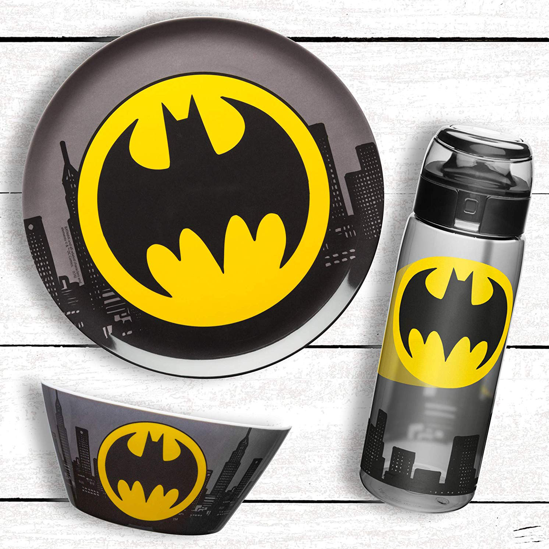 DC Comics Dinnerware Set, Batman, 3-piece set slideshow image 3