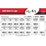 Split Bolts & Lugs Assortment