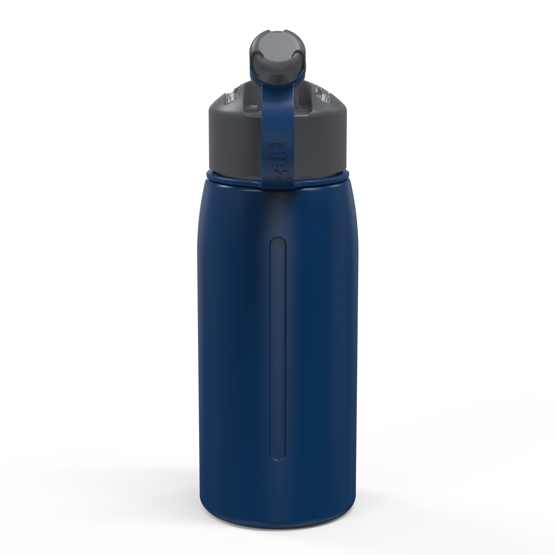 Genesis 24 ounce Vacuum Insulated Stainless Steel Tumbler, Indigo slideshow image 8