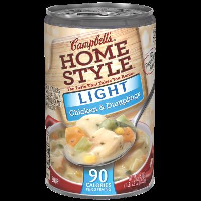 Light Chicken & Dumplings Soup