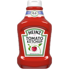 Heinz Fridge Fit Tomato Ketchup, 64 oz Bottle image