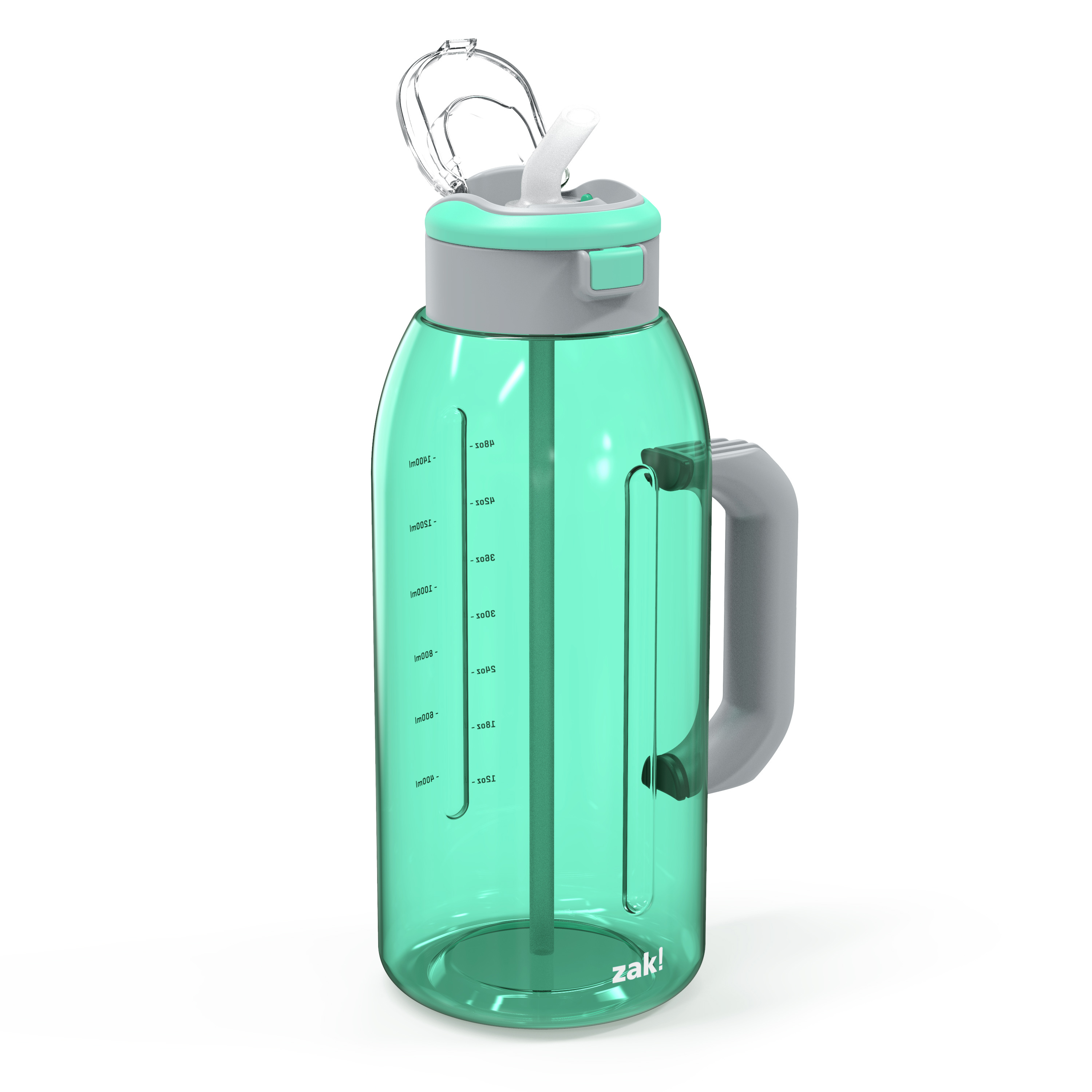 Genesis 64 ounce Water Bottles, Neo Mint slideshow image 5