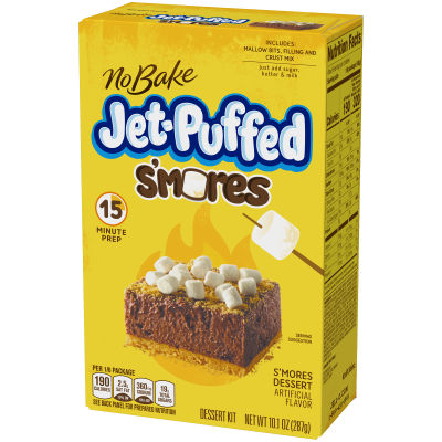 Jell-O No Bake S'mores Dessert Kit 10.1 oz Box
