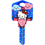Hello Kitty Rain or Shine Key Blank