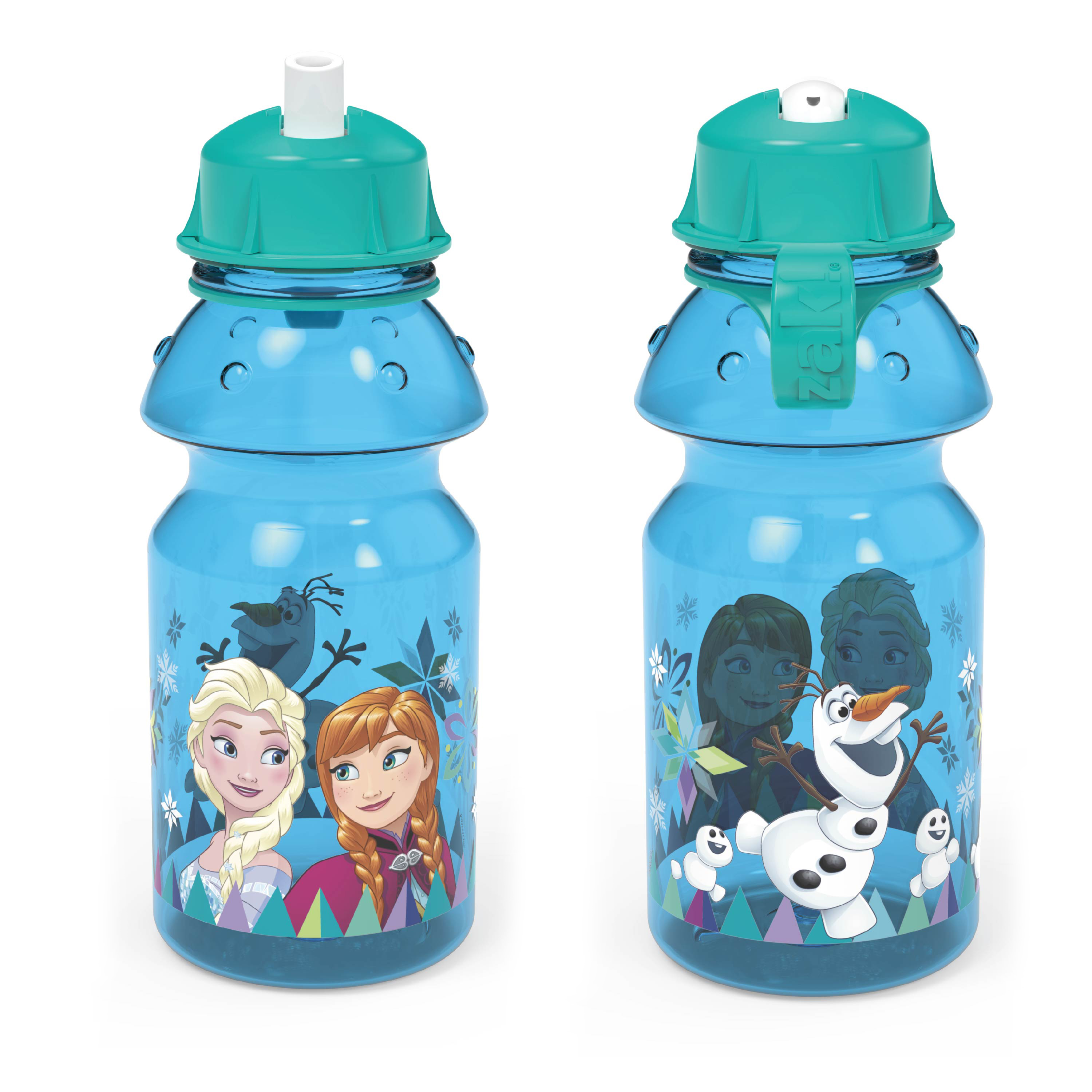 Disney Frozen 14 ounce Water Bottle, Anna, Elsa and Olaf slideshow image 6