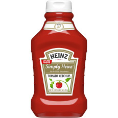 Heinz Simply Heinz Tomato Ketchup, 44 oz Bottle image
