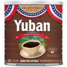 Yuban Traditional Medium Roast Premium Ground Coffee 31 oz Can