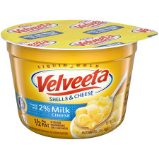 Velveeta Shells and Cheese Made with 2% Milk 2.19 oz Cup