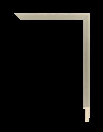 Sonata Shadow Box Silver 5/8