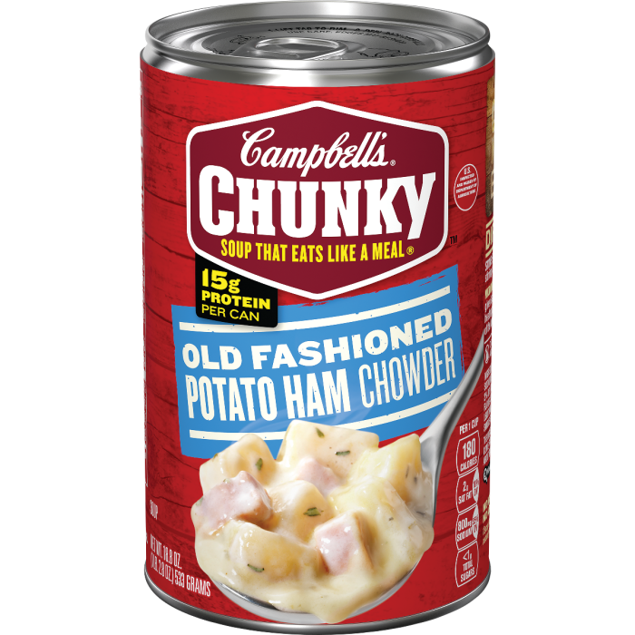 Old Fashioned Potato Ham Chowder
