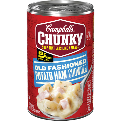 Old Fashioned Potato Ham Chowder