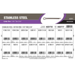 "Stainless Steel Cotter Pins Assortment (1/16"" thru 3/16"")"