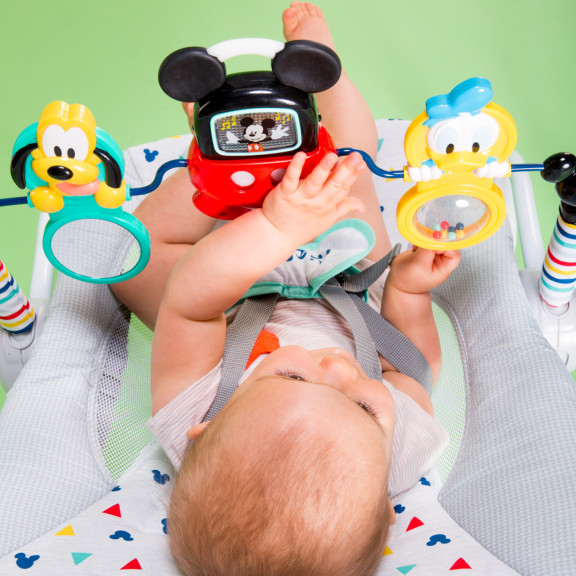 MICKEY MOUSE Take-Along Songs Infant to Toddler Rocker™