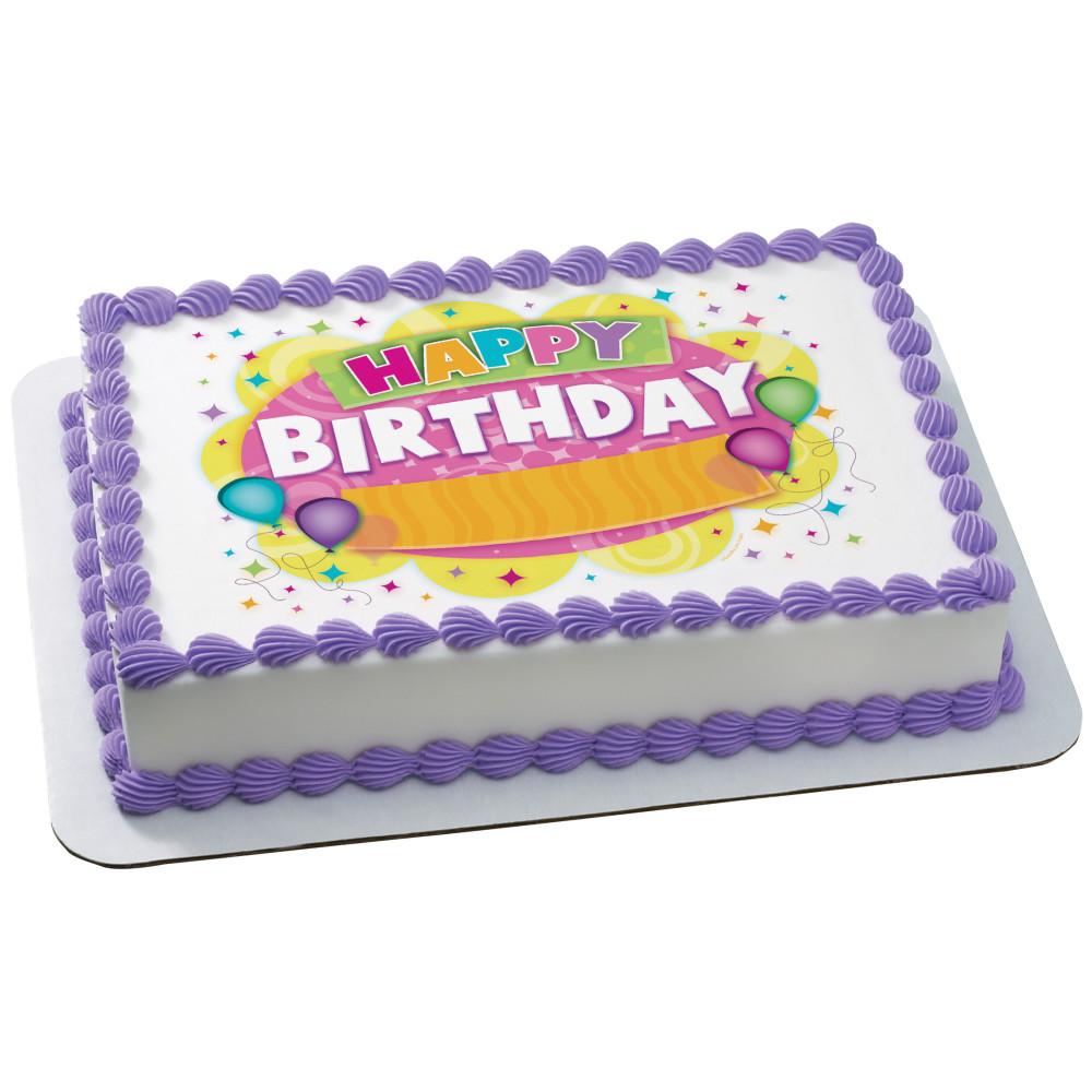 Fun Birthday Balloon