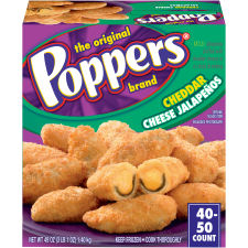 Poppers Cheddar Cheese Jalapenos 49 oz Box