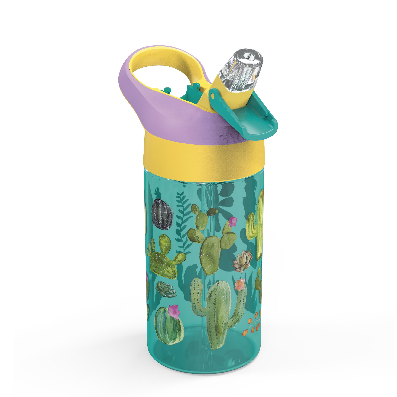 Zak Hydration 16 ounce Water Bottle, Cactus, Flamingos and Pineapples, 2-piece set slideshow image 3