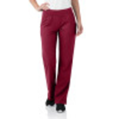 Urbane Ultimate Yoga Waist Scrub Pants for Women: 2 Pocket, Contemporary Slim Fit Flare Leg Luxe Soft Stretch Medical Scrubs 9330-