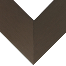 Nielsen Brushed Satin Chocolate 1 3/8