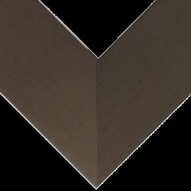 Nielsen Brushed Satin Chocolate 1 3/8