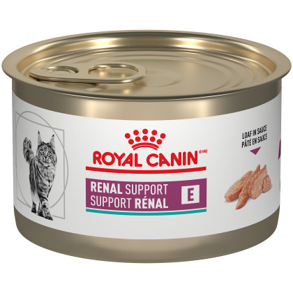 Royal Canin Veterinary Diet Feline Renal Support E Loaf in Sauce Canned Cat Food