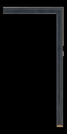 Zen Fillet Black 3/8