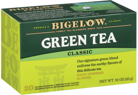 Green Tea - Case of 6 boxes- total of 120 teabags