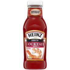 Heinz Zesty Cocktail Sauce, 12 oz Bottle image