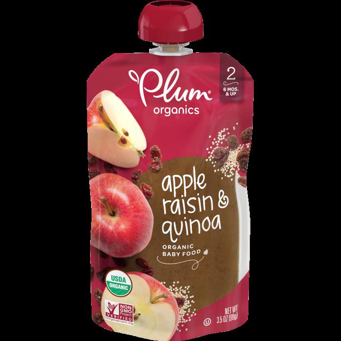 Apple, Raisin & Quinoa Baby Food