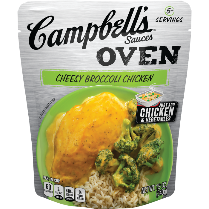 Cheesy Broccoli Chicken Sauce