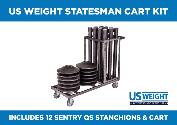 Statesman Cart Bundle - Sentry QS 2