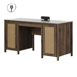 Talie - Computer Office Desk with Doors
