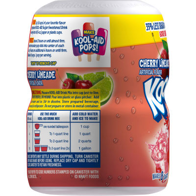 Kool-Aid Cherry Limeade Powdered Soft Drink, 19 oz Jar