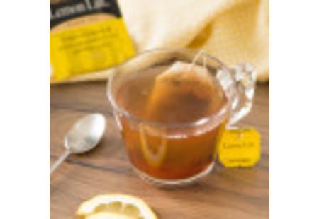 Front of Lemon Lift Tea box - 20 tea bags per box