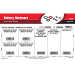 BatterY Hardware Assortment (Terminal Bolts & Washers)