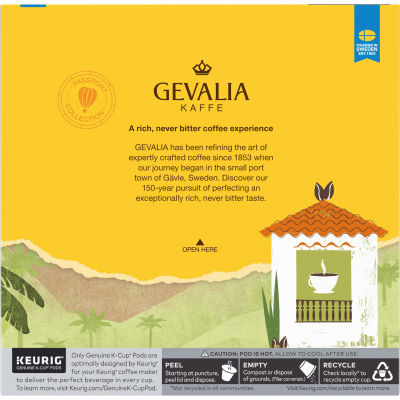 Gevalia Colombian Coffee K-Cup Pods 18 count
