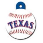 Texas Rangers Large Circle Quick-Tag