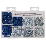 Metal Screws and Drill Bits Kit