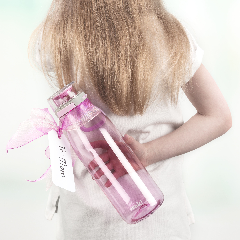 Kiona 31 ounce Water Bottle, Lilac slideshow image 2