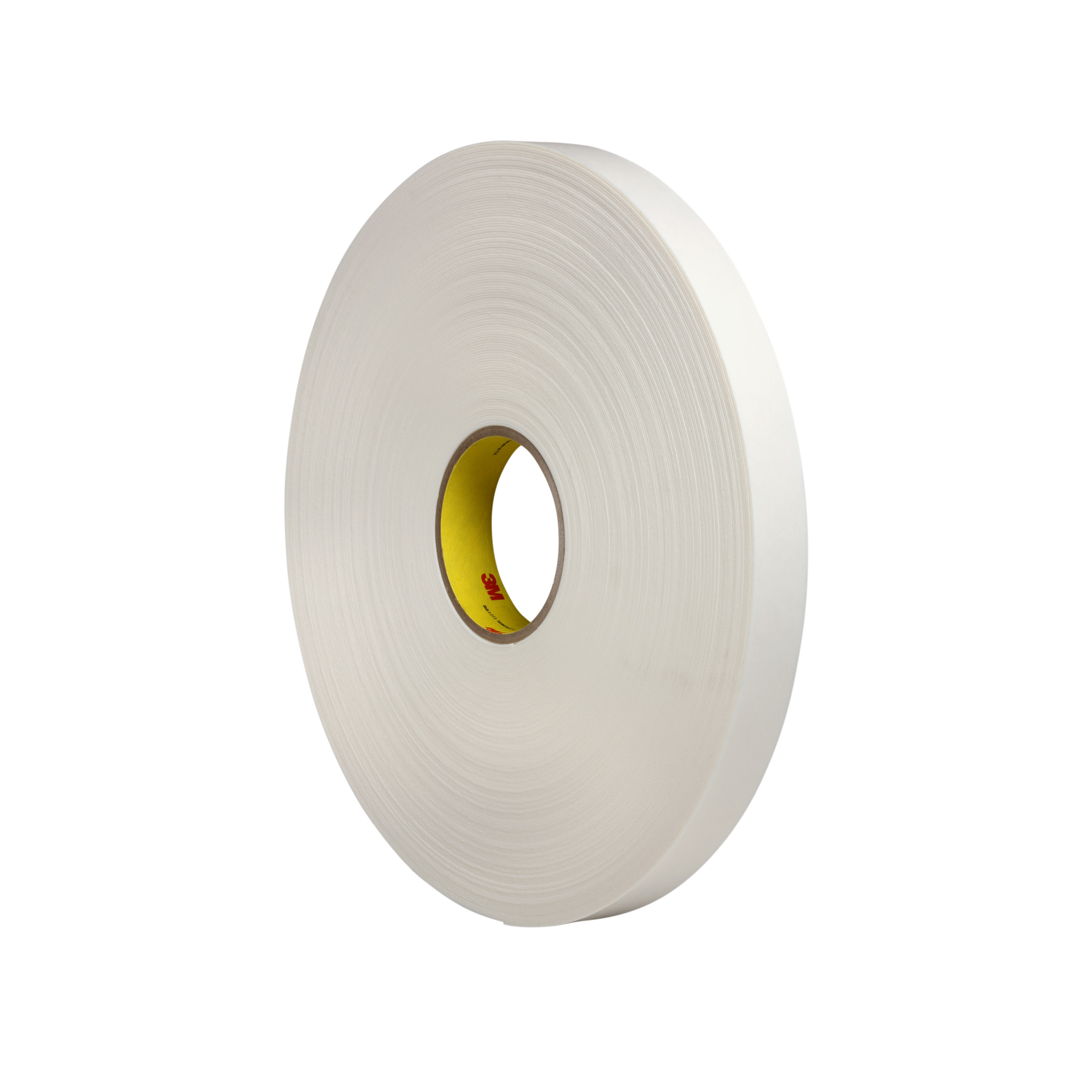 3M™ Double Coated Polyethylene Foam Tape 4462, White, 31 mil, Roll, Config