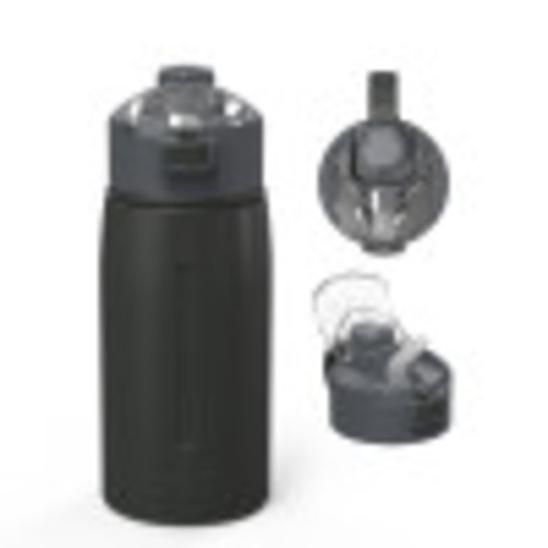 Genesis 18 ounce Vacuum Insulated Stainless Steel Tumbler, Charcoal
