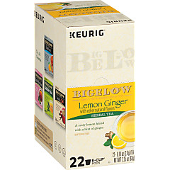 Lemon Ginger K-Cups - Case of 4 boxes - total of 96 k-cups