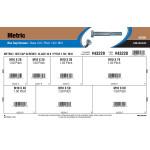 Class 10.9 Metric Hex Cap Screws Assortment (M10-1.50 Thread)