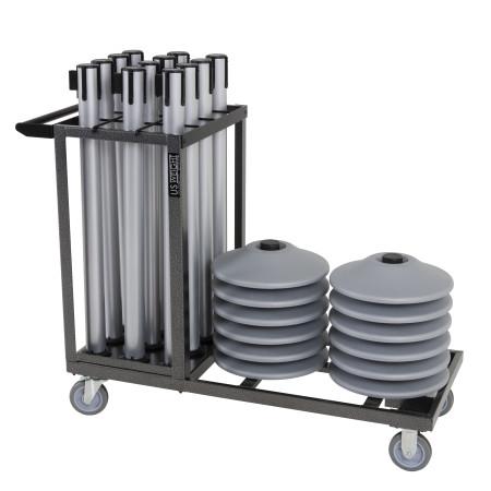 Statesman Cart Bundle - Silver Steel 22