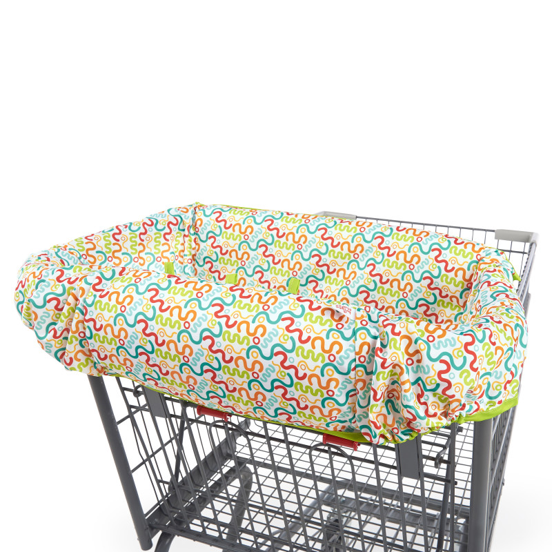 2-in-1 Cozy Cart Cover™ - Zigzag Twist