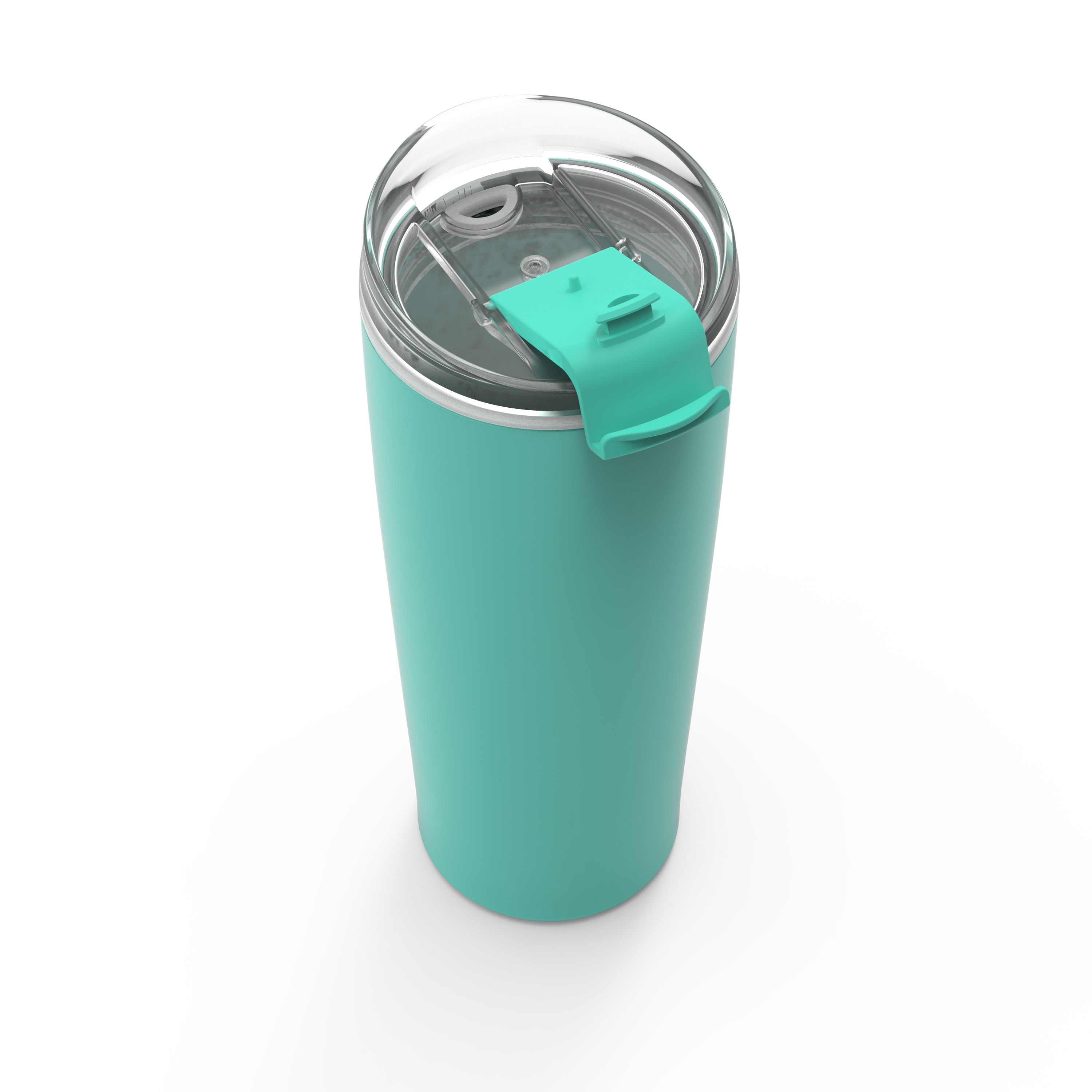 Aberdeen 24 ounce Vacuum Insulated Stainless Steel Tumbler, Green slideshow image 3