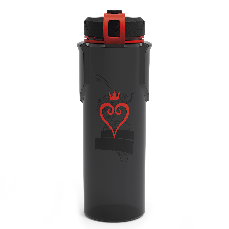 Kingdom of Hearts 36 ounce Reusable Plastic Water Bottle, Sora slideshow image 2