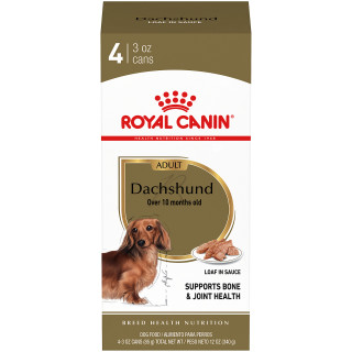 Dachshund Adult Loaf in Sauce Canned Dog Food