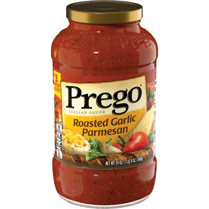 Roasted Garlic Parmesan Italian Sauce